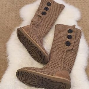 Classic Cardy Knit Ugg Boots